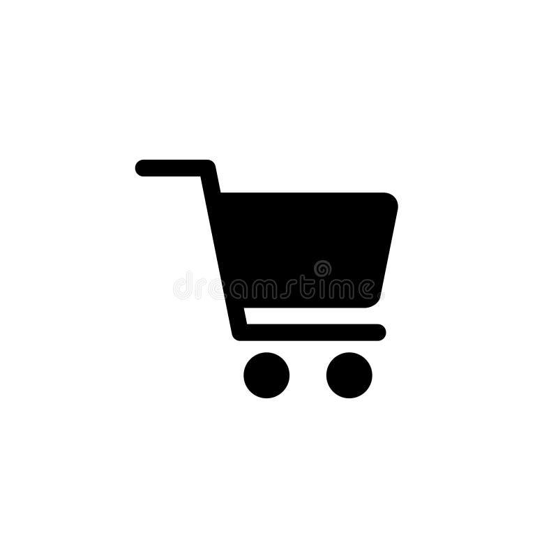 Shopping cart vector icon finance concept  for graphic design, logo, web site, social media, mobile app, ui illustration stock illustration