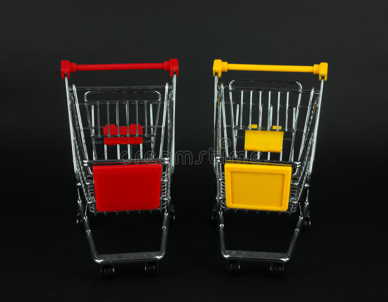 Download Shopping carts stock photo. Image of metallic, reflection - 14859724