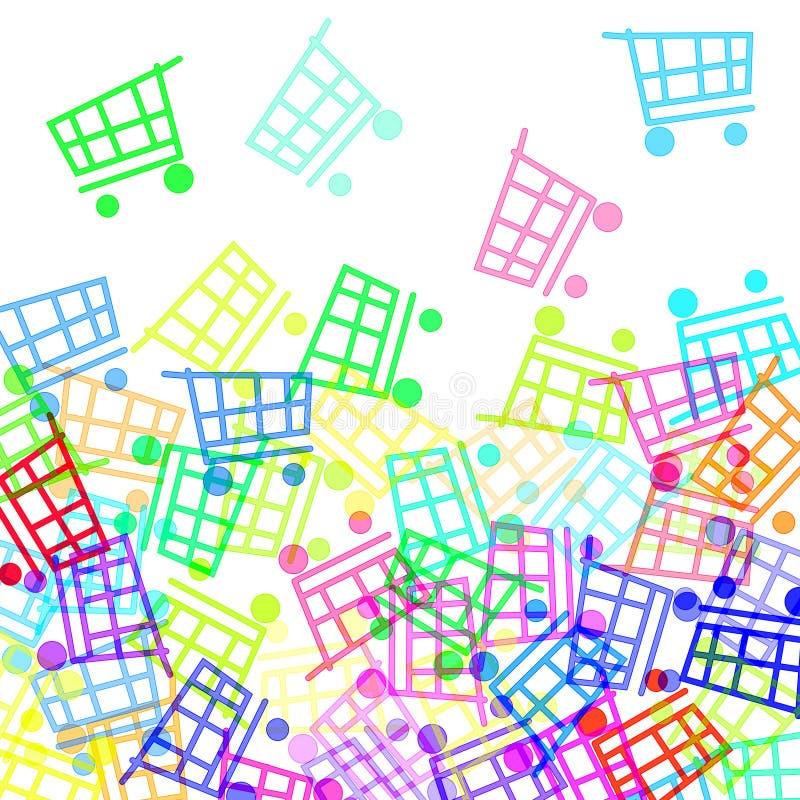 Free Shopping Carts Royalty Free Stock Photography - 15840477