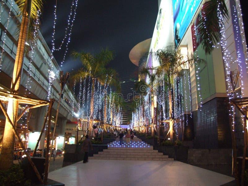 Shopping center, Bangkok, Thailand.