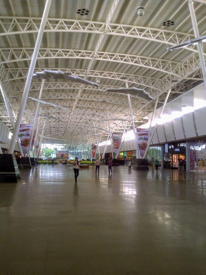 Shopping center hall called Los Aviadores in Maracay Venezuela stock photos