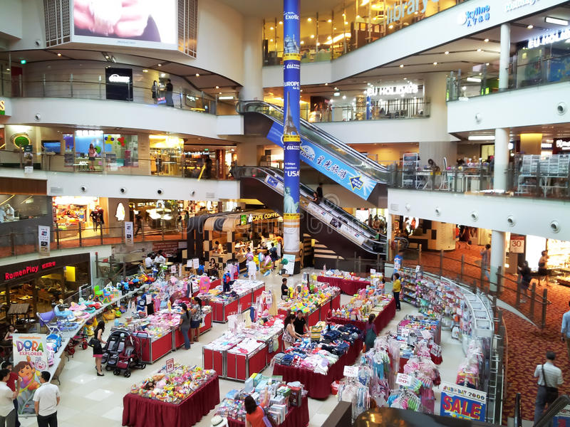 Download Shopping center sales editorial stock image. Image of shoppers - 43065709