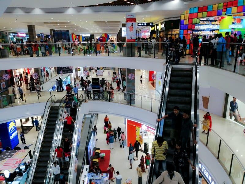 Shopping Center Travancore Mall fotos de stock