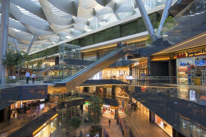 Shopping central de Toreo Parque em Cidade do México imagem de stock