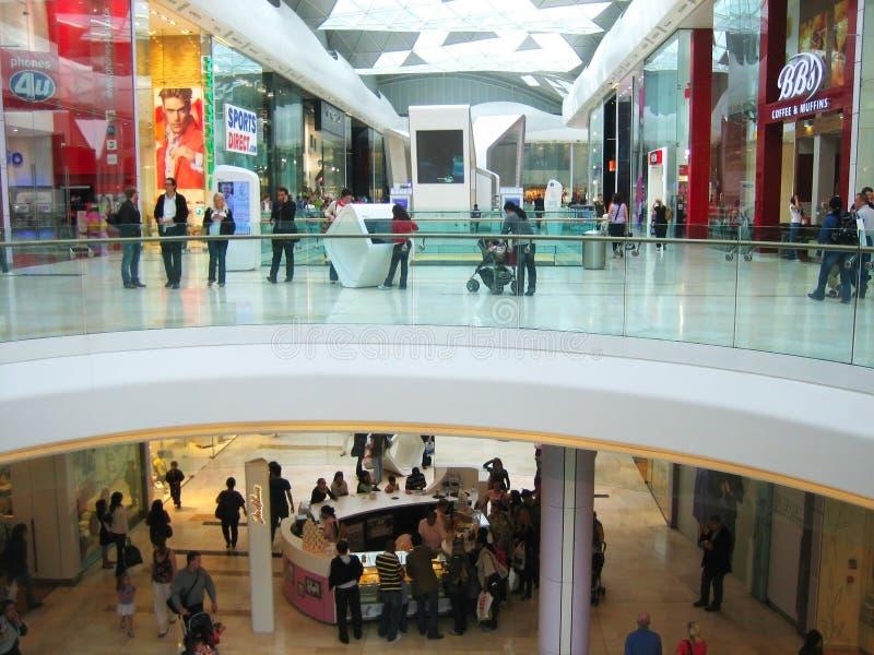 Shopping centre royalty free stock photo