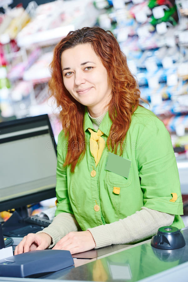 Shopping. Check out in supermarket store royalty free stock photos