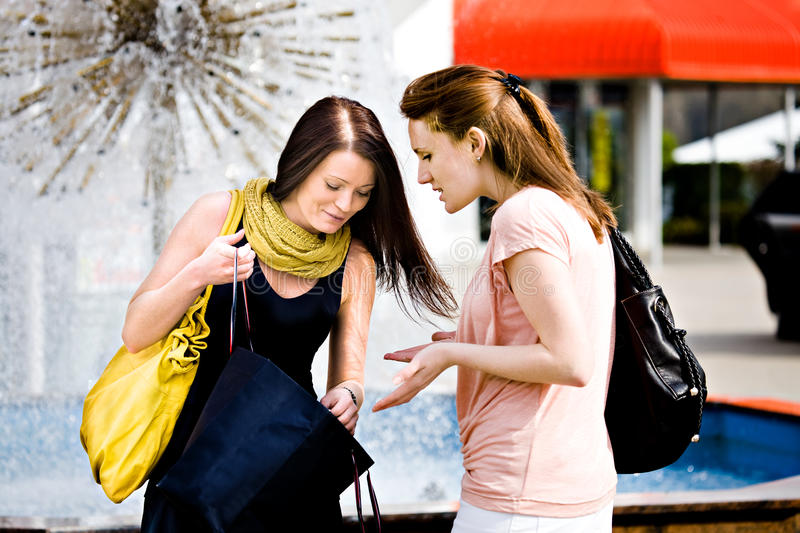 Download Shopping in the city stock photo. Image of walking, city - 22865102