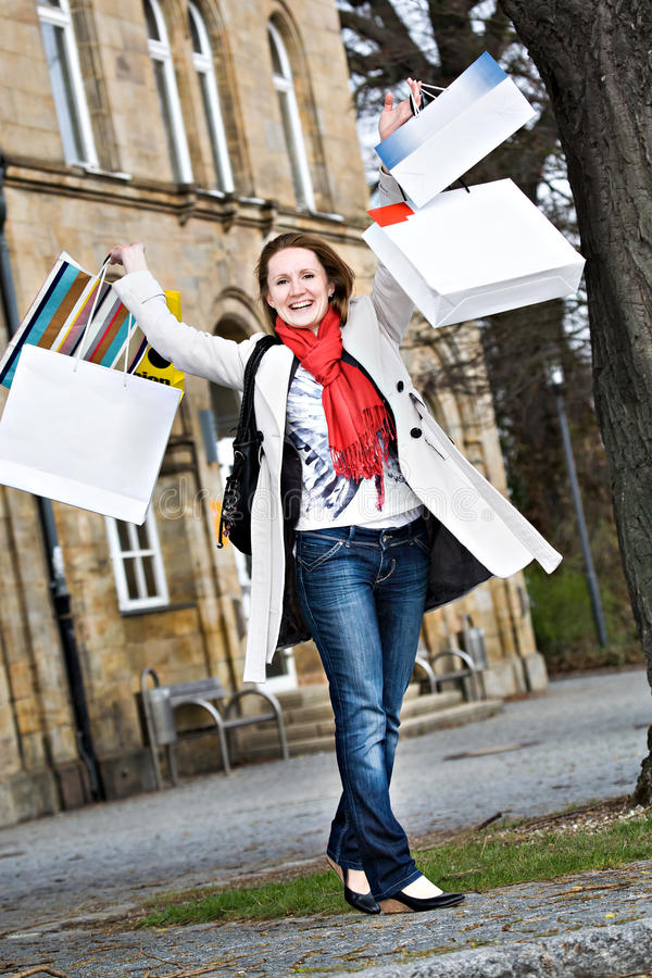 Download Shopping In The City Royalty Free Stock Images - Image: 24698039