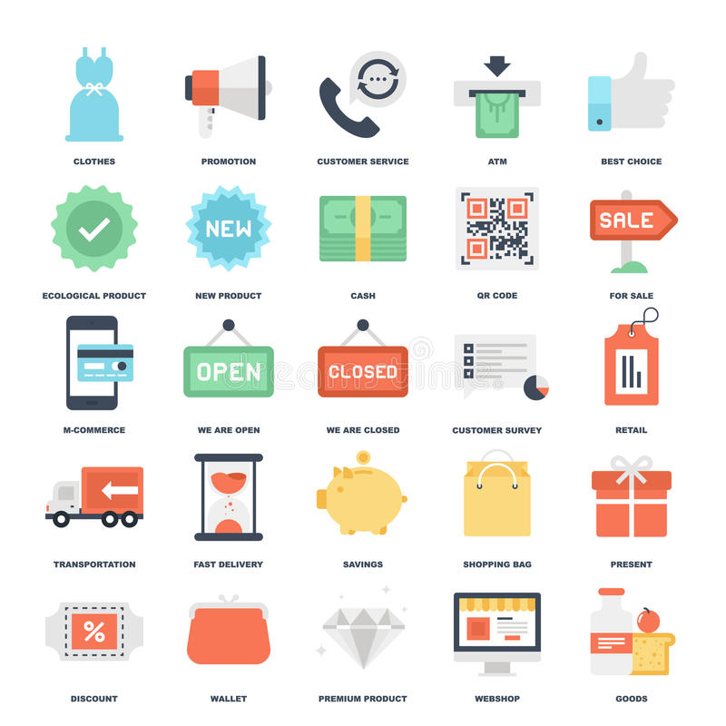 Shopping and Commerce royalty free stock images