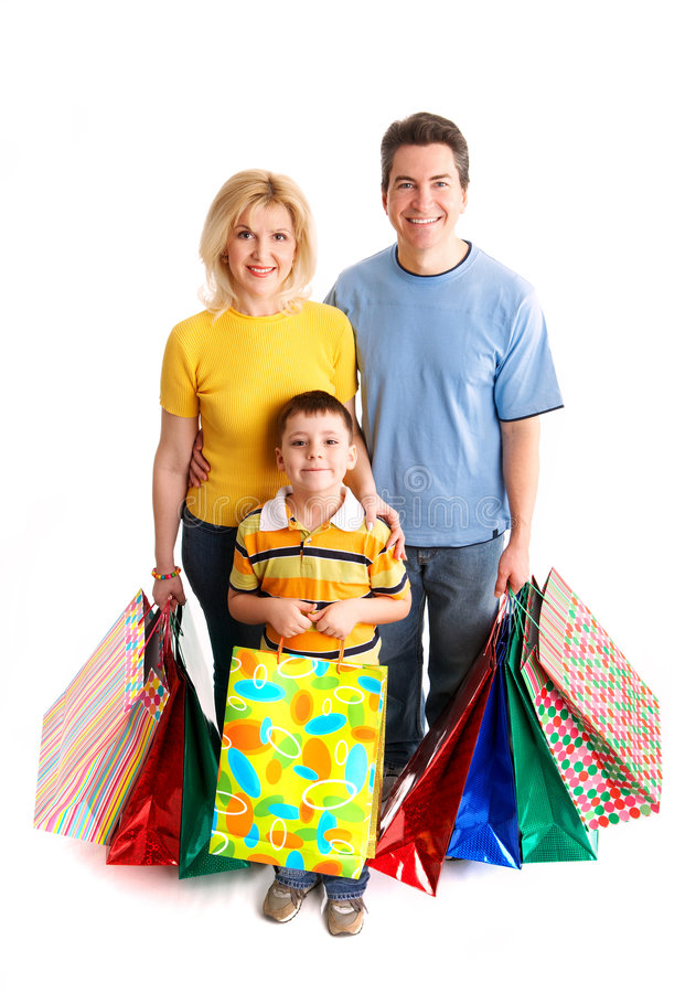 Download Shopping Couple Stock Image - Image: 4494981