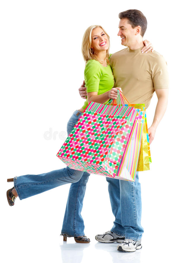 Download Shopping couple stock image. Image of person, surprised - 9848217
