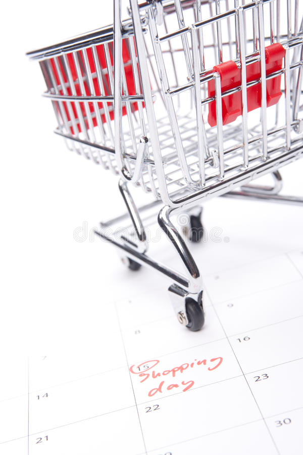 Shopping day stock photography