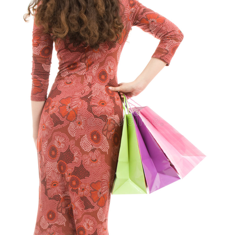 Shopping day royalty free stock images