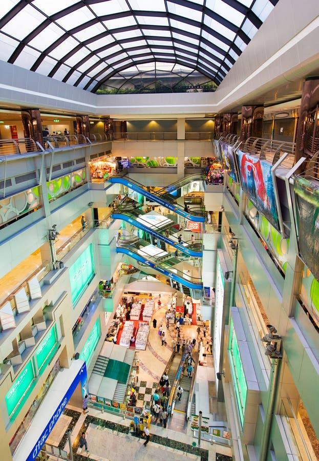Shopping de MBK para dentro, Banguecoque foto de stock royalty free