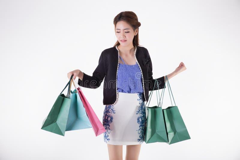 shopping royaltyfria bilder