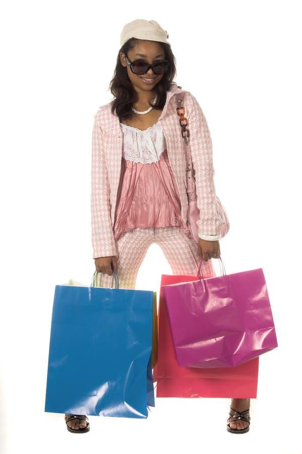 Shopping Diva stock photos
