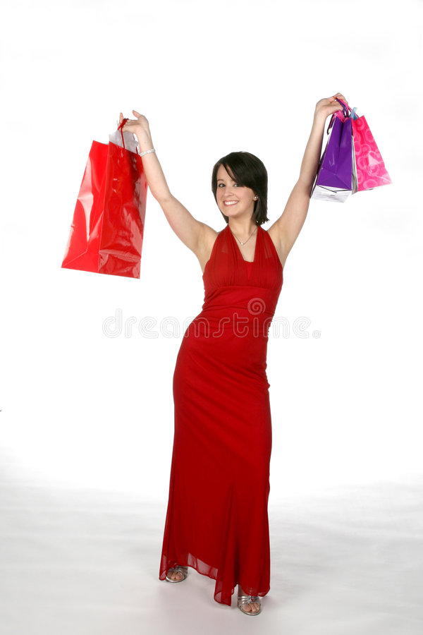 Download Shopping diva stock image. Image of girl, gown, pretty - 5606673