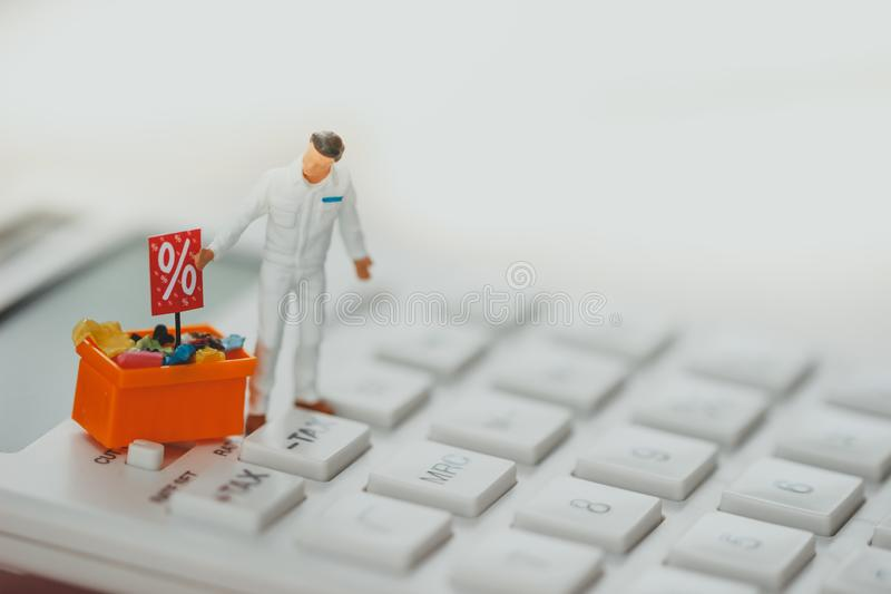 Shopping and e-commerce concept. royalty free stock image