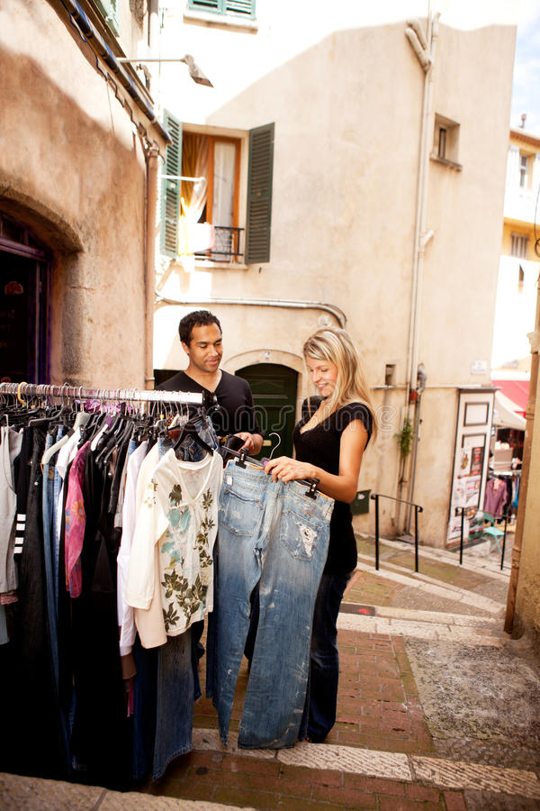 Download Shopping Europe stock photo. Image of fashion, clothes - 14230318
