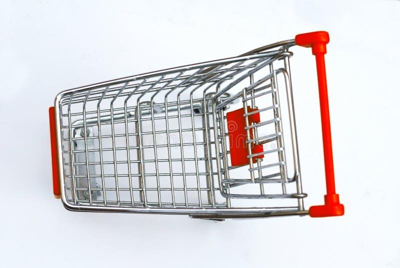 shopping för 5 vagn royaltyfri foto