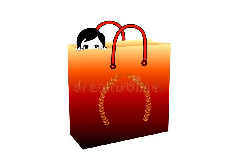 Shopping Fantasy Royalty Free Stock Photography
