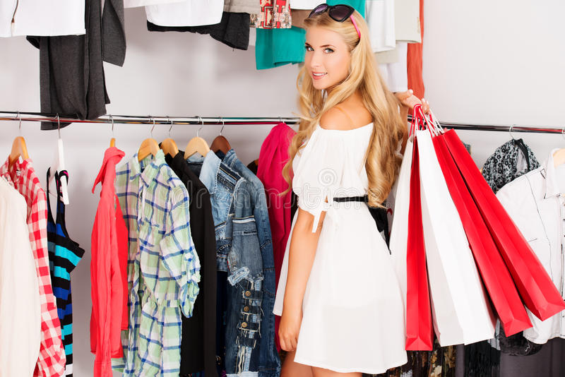 Download Shopping stock photo. Image of caucasian, fitting, people - 34300130