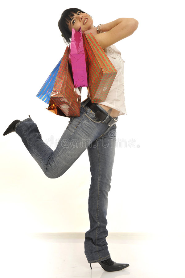 Free Shopping Fever Royalty Free Stock Images - 8546309