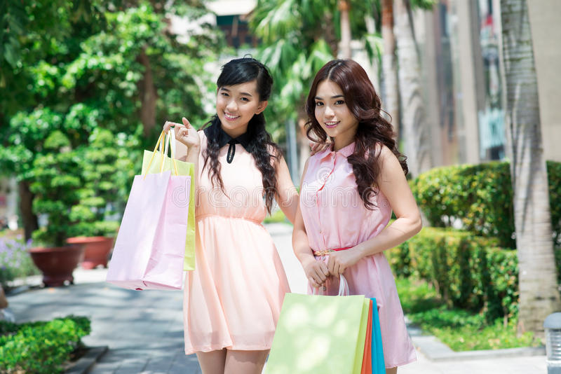Download Shopping Friends Royalty Free Stock Photos - Image: 28055048