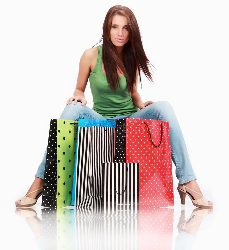 Free Shopping Girl Stock Photography - 13362982