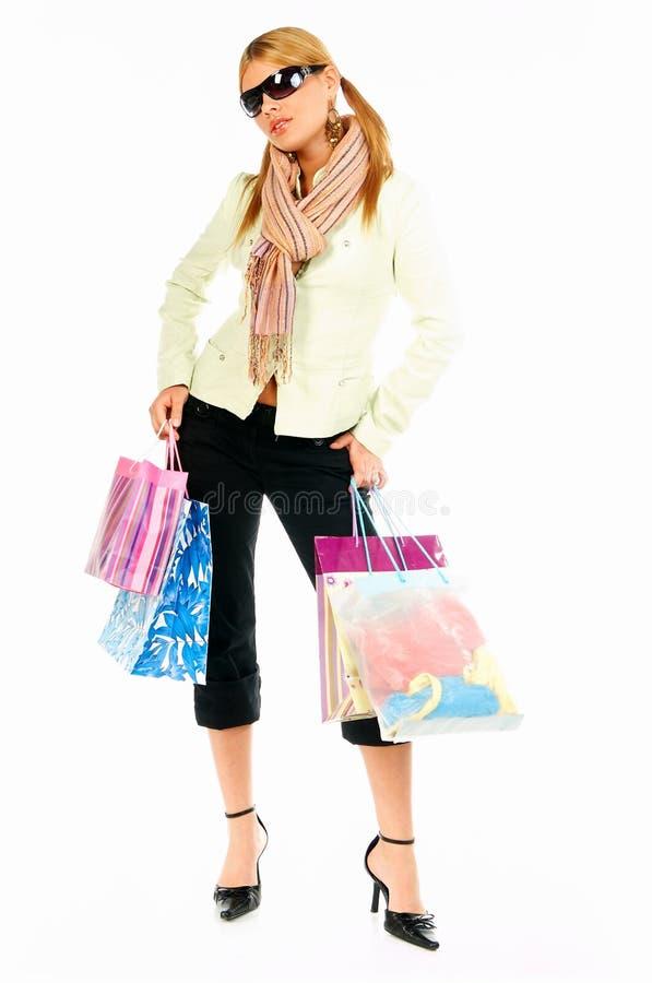 Shopping Girl 2 stock photo