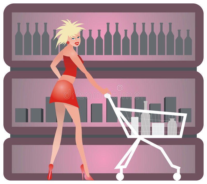 Download Shopping Girl Stock Photography - Image: 2137152