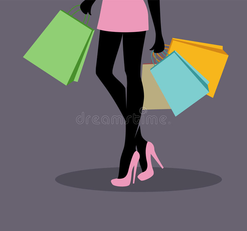 Download Shopping Girl Royalty Free Stock Photography - Image: 27616437