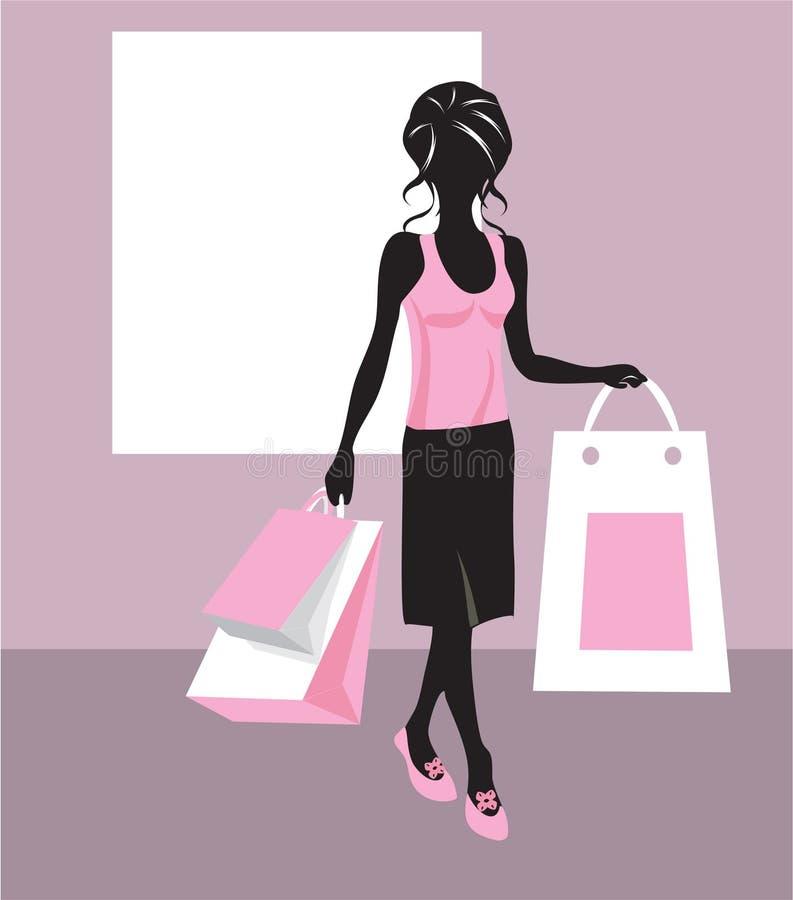 Shopping Girl Stock Photos
