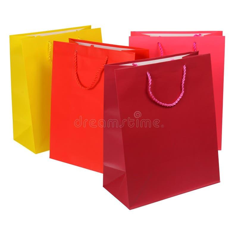 Shopping hänger lös royaltyfri fotografi