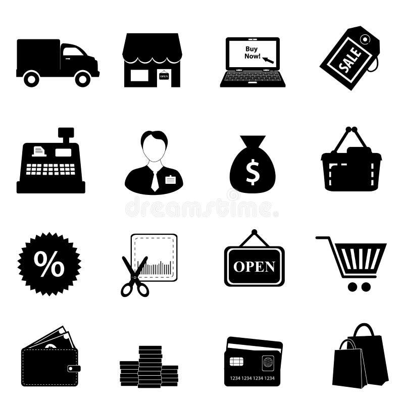 Free Shopping Icon Set Stock Images - 22223924