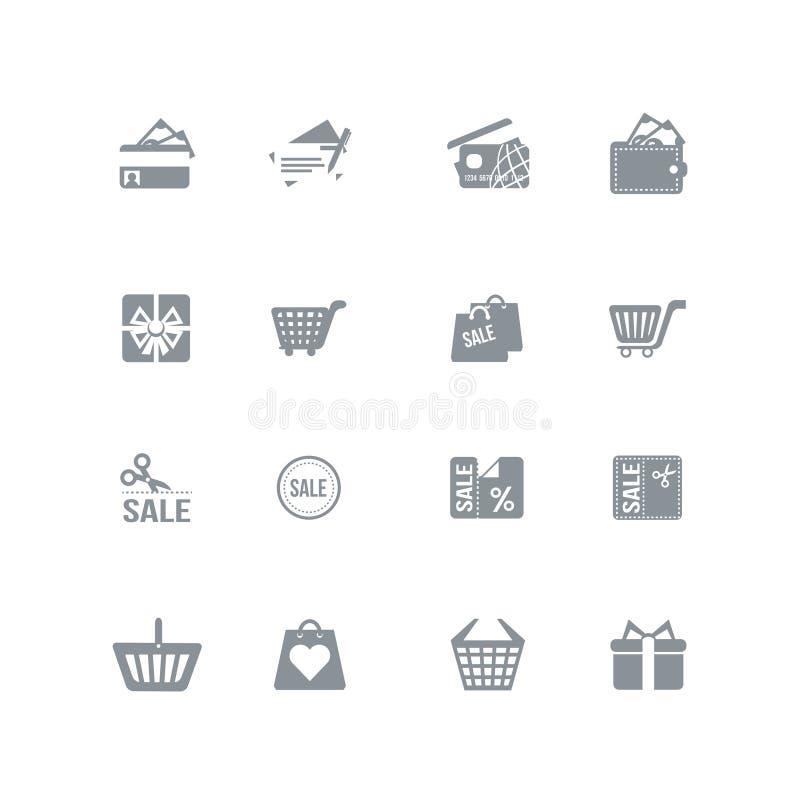 Free Shopping Icons Stock Photos - 34504363