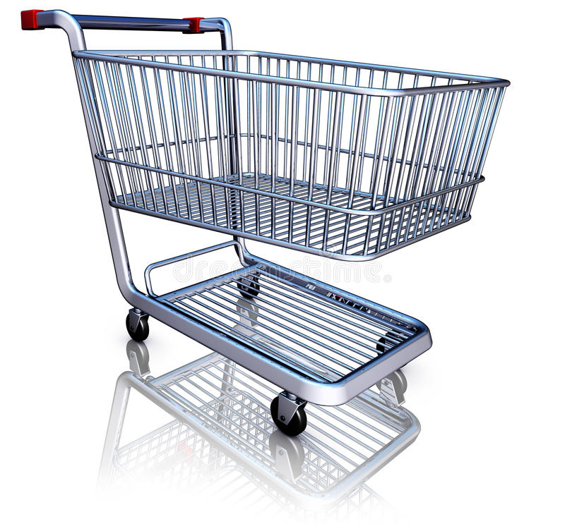 Shopping. Illustration of a shopping concept stock illustration