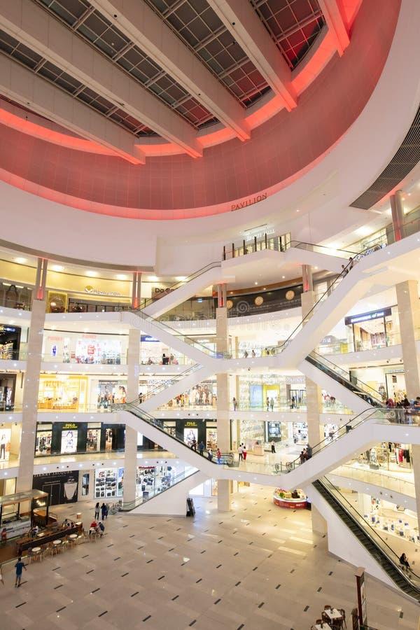 Shopping Kuala Lumpur de Pavillion imagens de stock