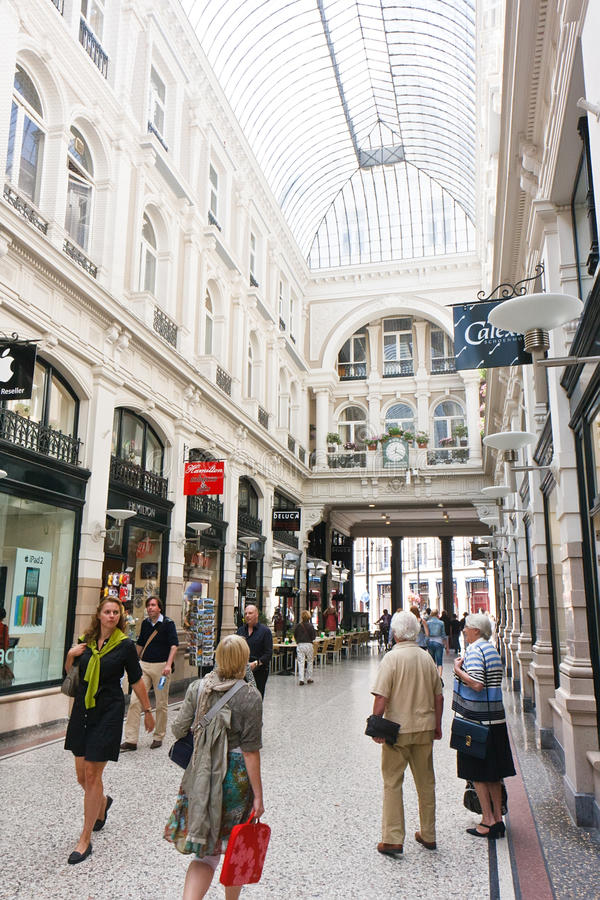 Download Shopping Mall editorial stock photo. Image of city, glass - 20791453