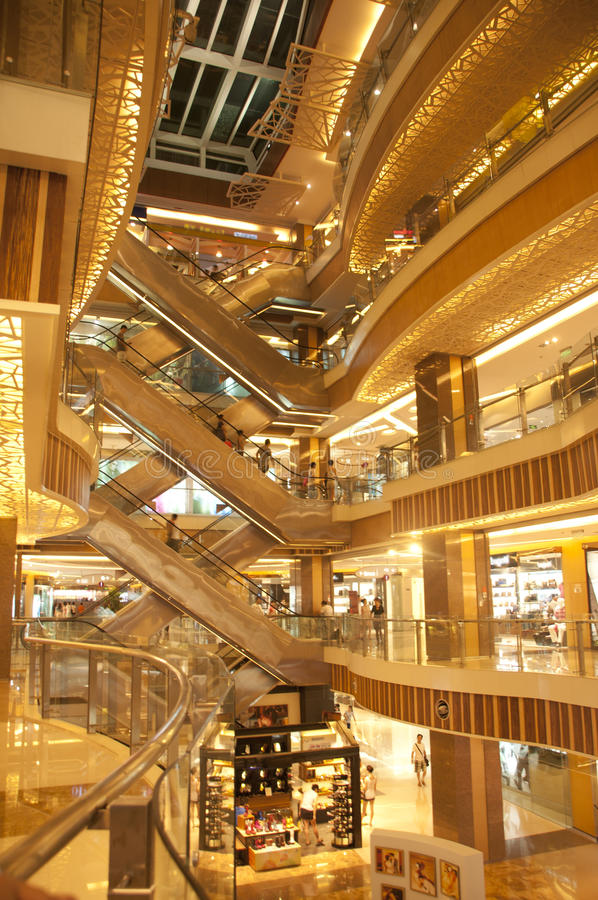 Download Shopping mall stock image. Image of design, light, elegant - 20922493