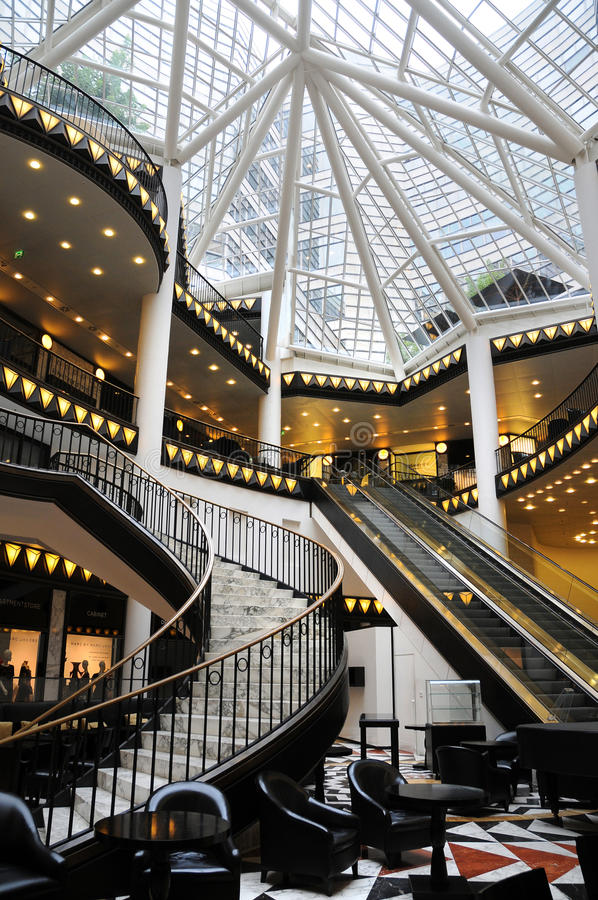 Download Shopping mall editorial stock photo. Image of restaurants - 21217798