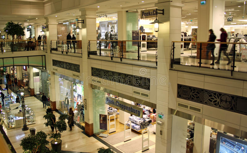 Download Shopping mall editorial stock image. Image of retail - 21934394