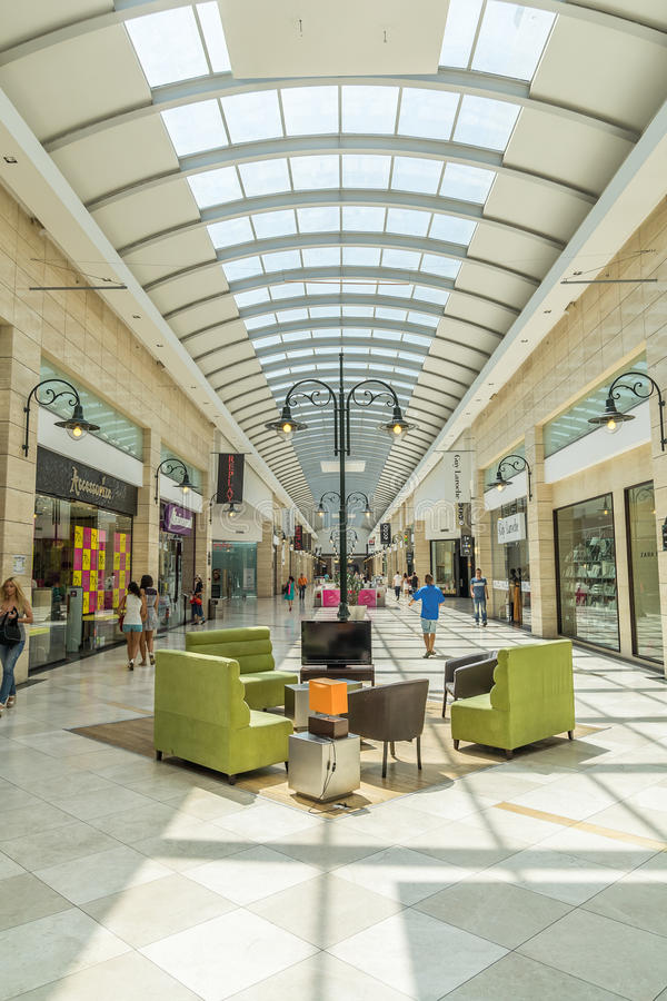 Download Shopping Mall editorial photo. Image of commerce, crowded - 25879216