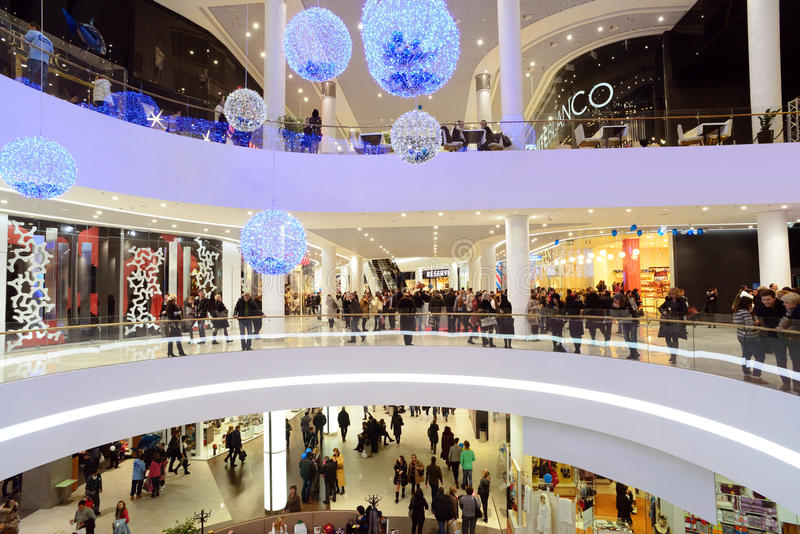 Download Shopping mall editorial photography. Image of commercial - 28081567