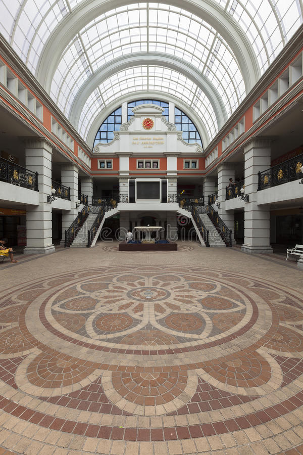 The Shopping Mall at Assumption University. stock photos