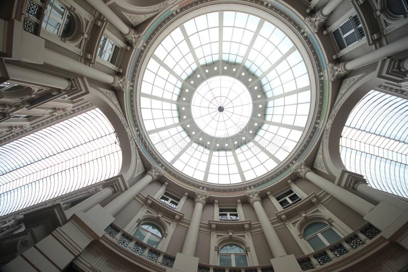 Shopping mall in the center of the city of The Hague named Passage. royalty free stock photos