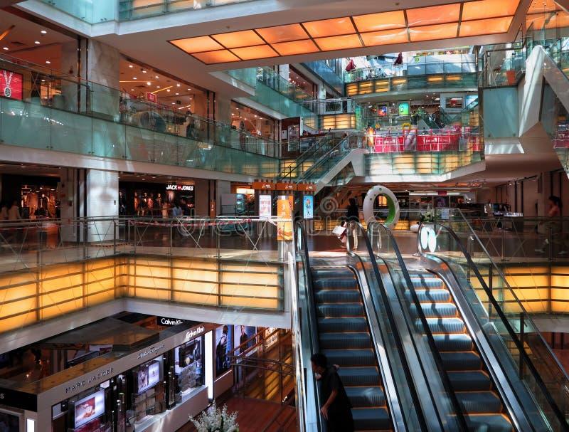 Shopping Mall Elevator Editorial Photo