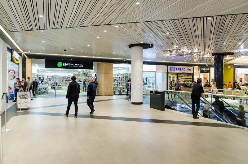 Shopping Mall Inside royalty free stock photos