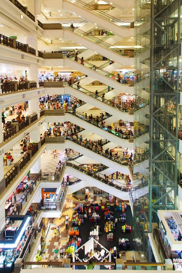 Shopping Mall at Kuala Lumpur royalty free stock images