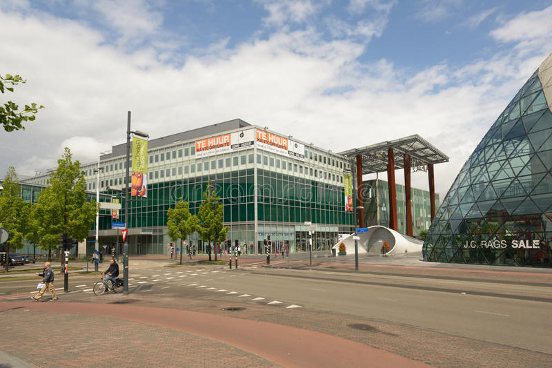 Shopping mall Piazza in Eindhoven, Netherlands royalty free stock photos